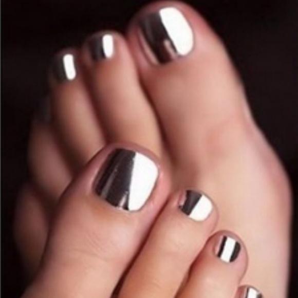 Accessories | Metallic Silver Nail Polish New | Poshmark